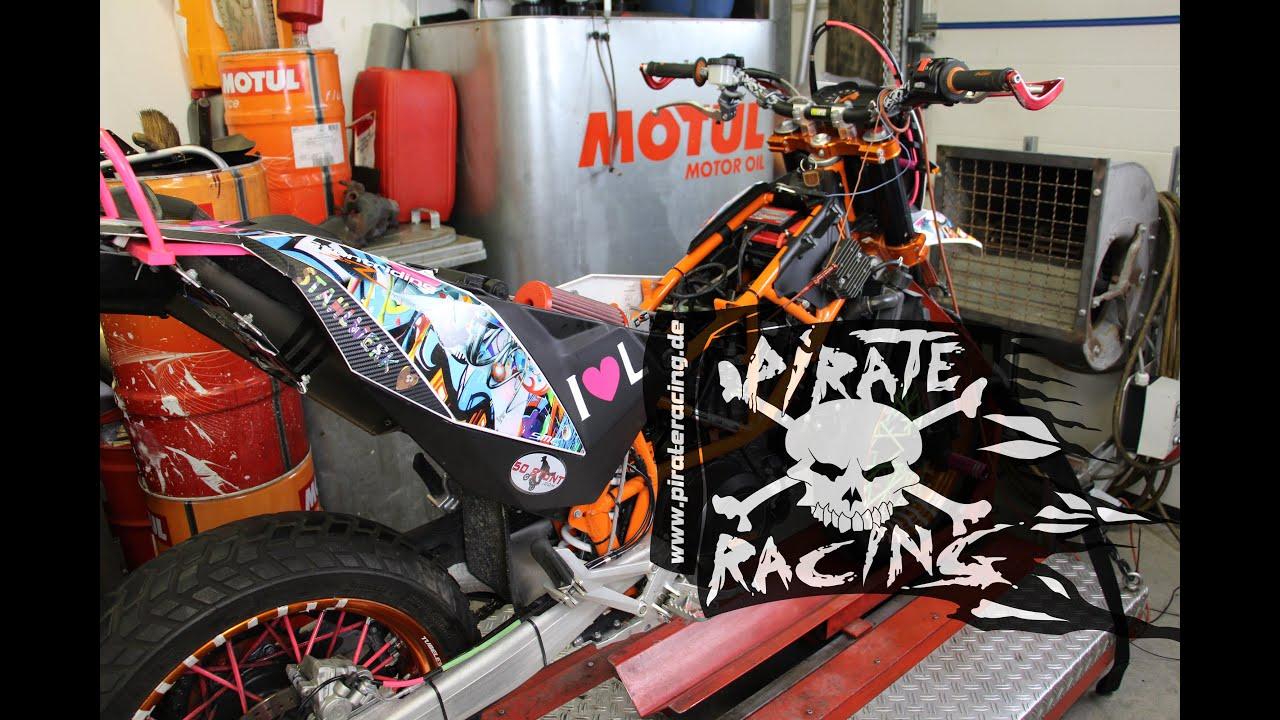 Ktm 690 Enduro R >> KTM 690 Full Power Pirate Racing - YouTube