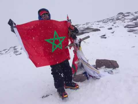 Bouchra Baibanou, première Marocaine de l'histoire à gravir l'Everest