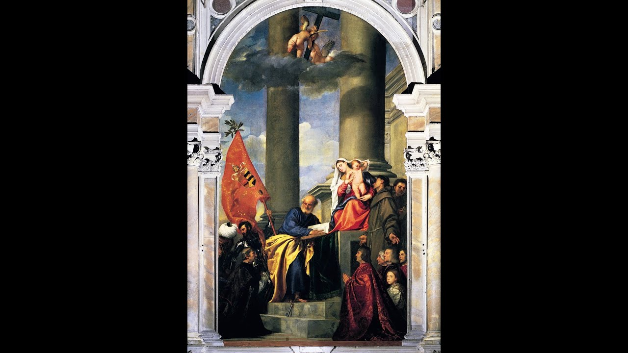 Titian, Madonna of the Pesaro Family - YouTube