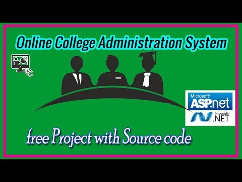 Online College Administration Project in ASP.NET C# with Source code