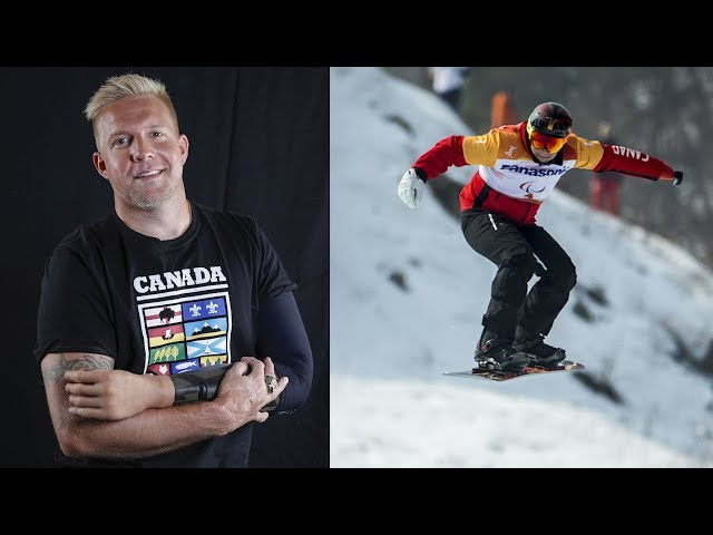 Curt Minard says he wouldn't change losing his arm in an electrical accident, adding that the 2008 incident made him a better person. The para snowboarder competes in Thursday's banked slalom event in Pyeongchang. (The Canadian Press)
