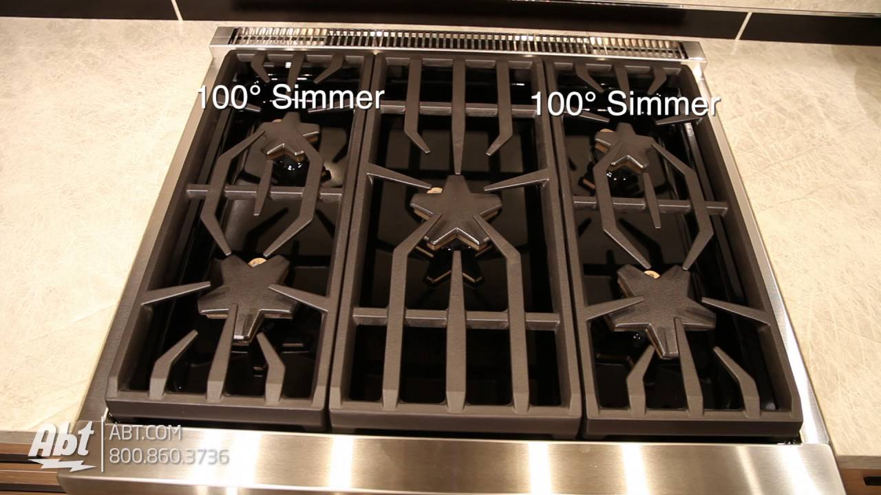 Thermador 30 Professional Series Pro Harmony Standard Depth Gas Range Prg305ph Overview You