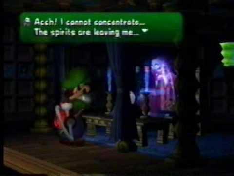 Luigi's Mansion Walkthrough: Madame Clairvoya, The Freaky Fortune Teller