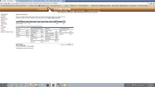Capsim Balanced Scorecard