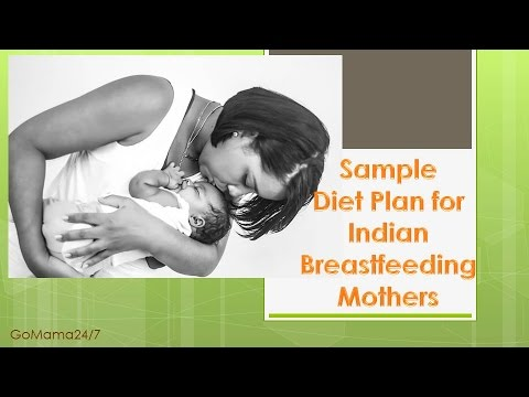 Diet Plan for Breastfeeding Mothers