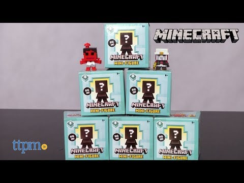 Lot of 12 Minecraft Series 8 Biome Settlers Mini Figure Blind Boxes New