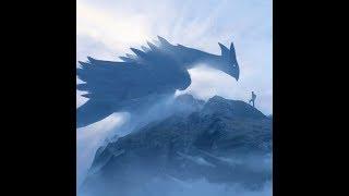 ⭐ Без категории | Живые обои A creature on a mountain | Скачать бесплатно | На рабочий стол ⭐