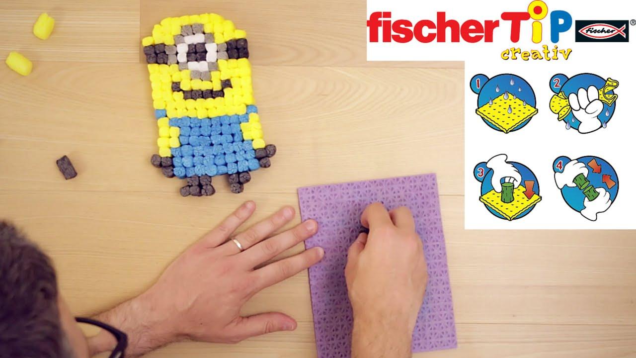 Come Fare I Minion E Creare Personaggi Con I Fischer Tip Youtube