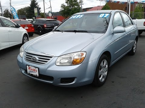 2007 KIA SPECTRA EX SEDAN SOLD!!!