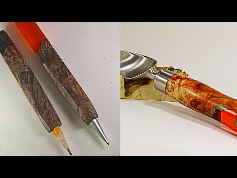 3 AMAZING HANDLES  CREATED  BY USING EPOXY RESIN