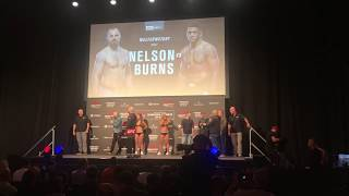 Gunnar Nelson at UFC Copenhagen Weigh-ins