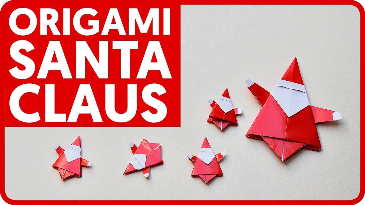 diagram origami santa claus mr yukihiko matsuno youtube