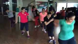 Aerobics Hi - lo (Beginners Batch) by trainer Sangeeta Jasani @ JGS Fitness Centre