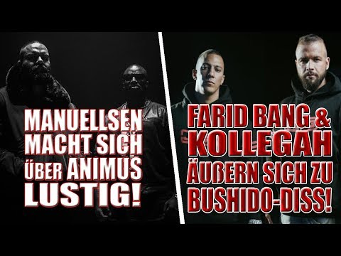 Kollegah & Farid Bang äußern sich zu Bushido-Angriffen!   Manuellsen diskreditiert Animus!