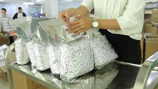 How to pack tea?