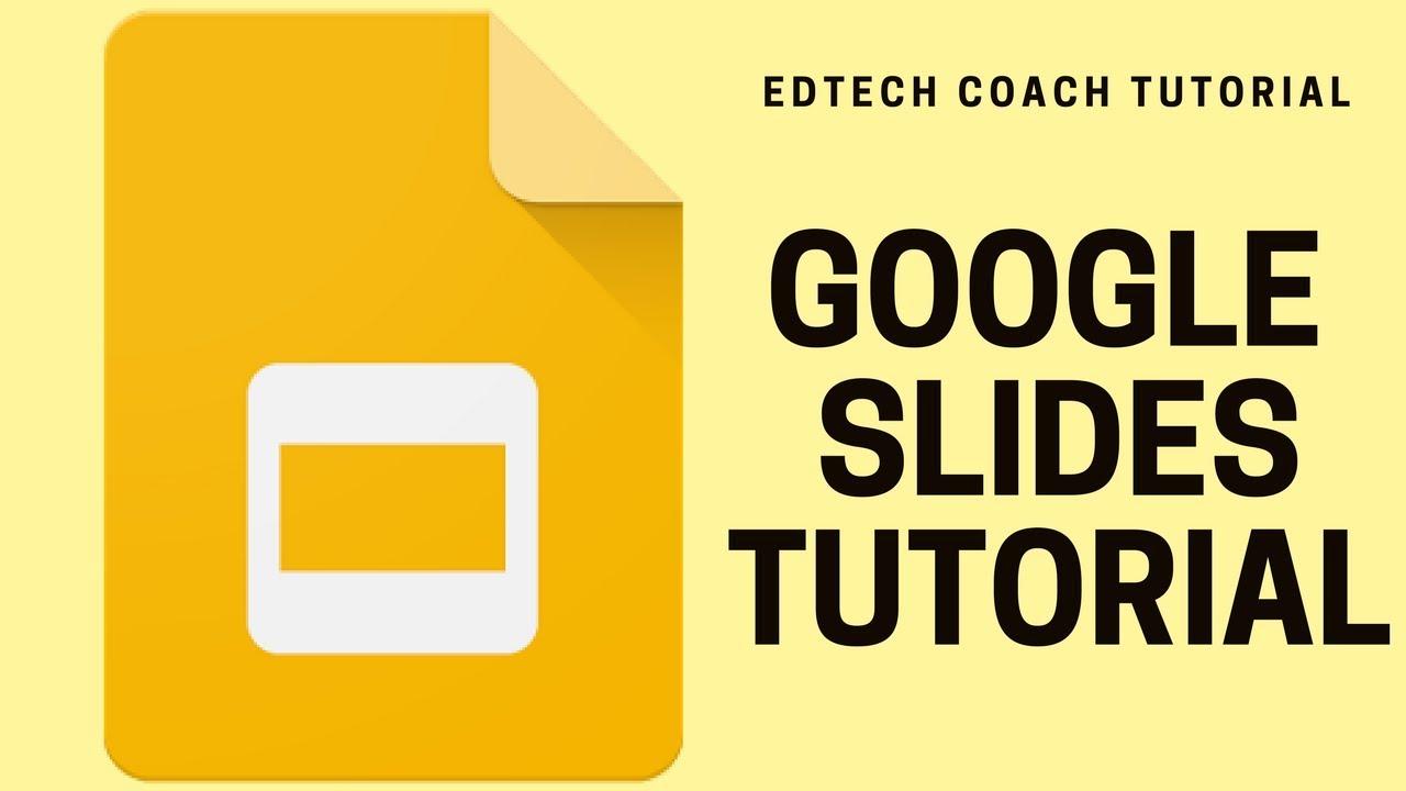 google slides tutorial how to design slides youtube