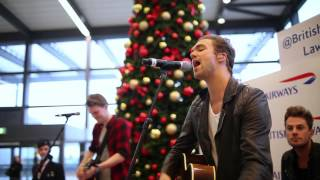 British Airways presents Lawson at Gatwick Airport #BAMusic