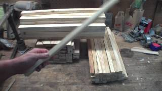 Home Built Langstroth Style Honey Bee Hives  Part 1