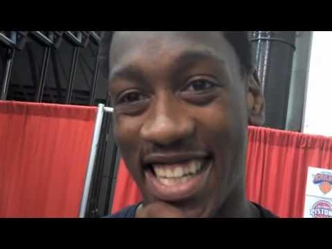 Milwaukee Bucks - Larry Sanders interview at the 2010 NBA Summer League