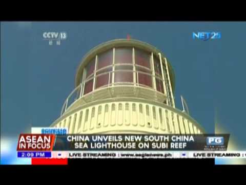 China unveils new South China Sea lighthouse on Subi reef