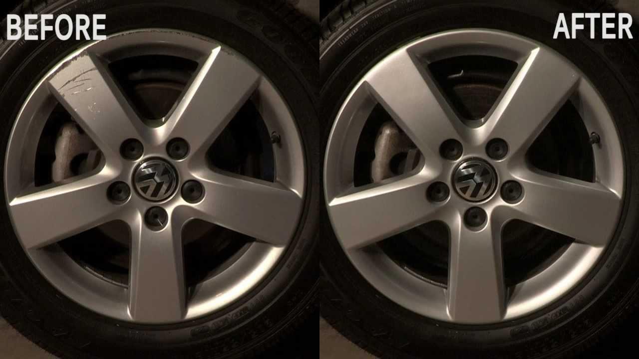 Wheel Repair Vw Jetta Before After By Kelly Wheel Repair Youtube