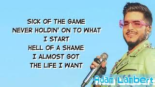 Adam Lambert - Closer To You (Lyrics / Lyric Video)