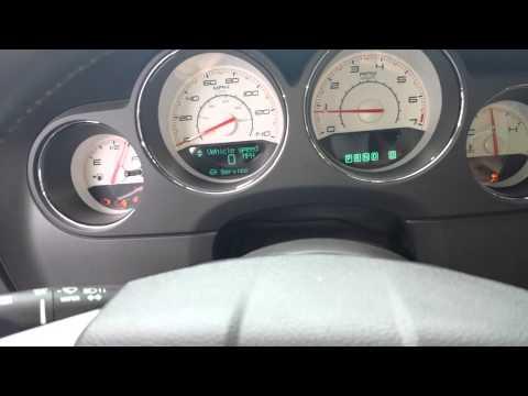2012 Challenger dash lights
