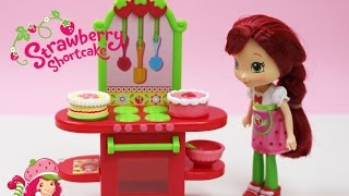 ✿ Strawberry Shortcake Berry Bitty City Cafe Unboxing ✿  Strawberry Cake