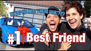 SURPRISING BEST FRIEND WITH LAMBORGHINI!! | The Weeks Twins Reaction
