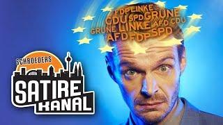 Florian Schroeder & die lustigsten Wahlwerbespots zur Europawahl