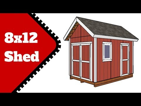 8x12 Shed Plans Free