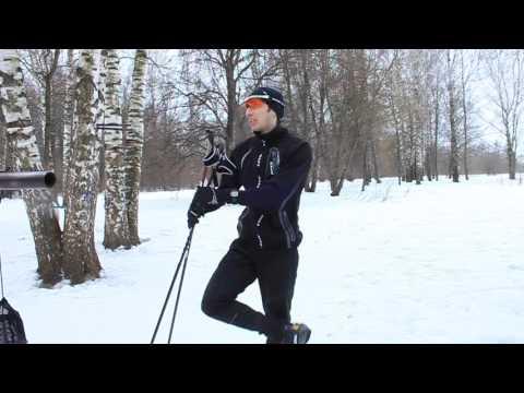 Беговые лыжи. Урок 13. Одновременный одношажный коньковый ход