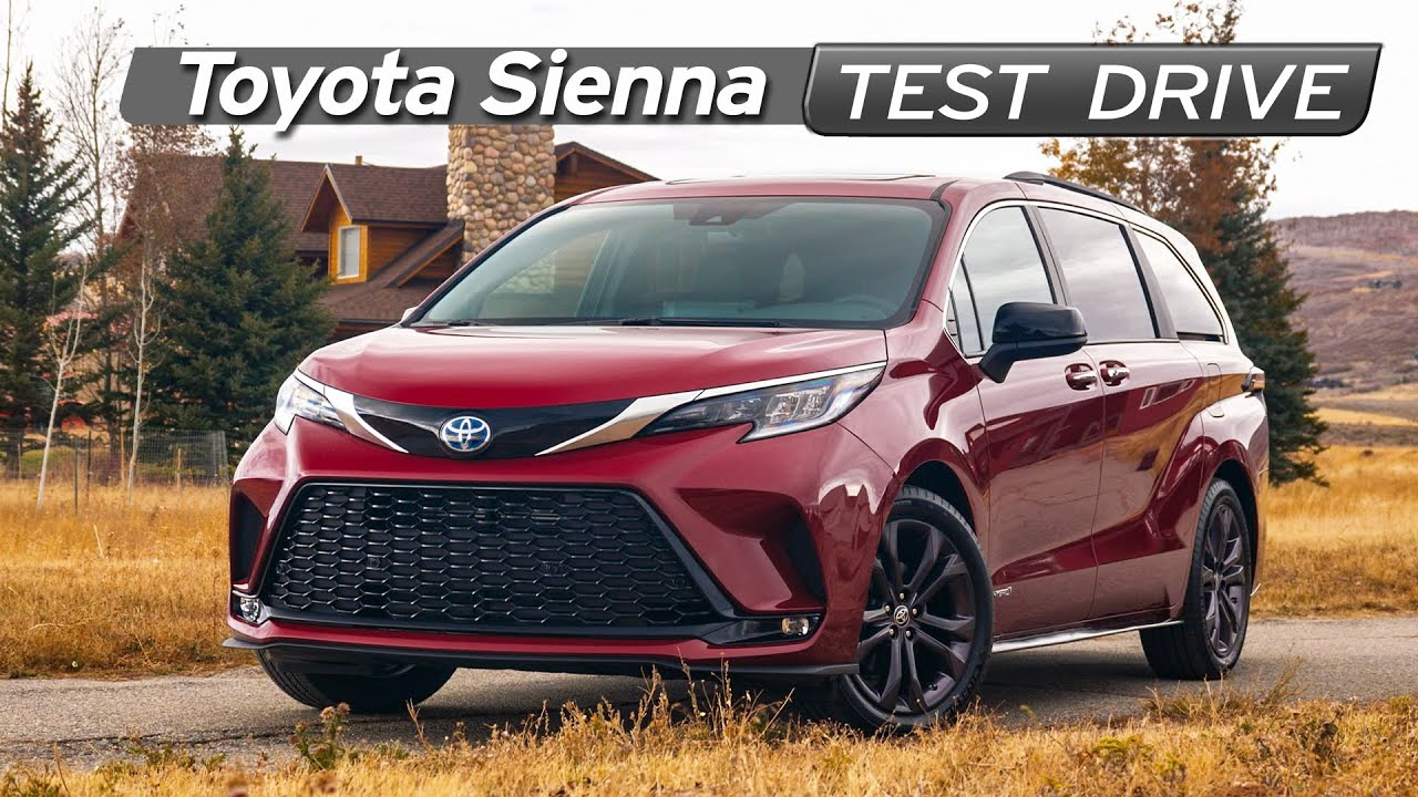Toyota Sienna Review - Supra Van - Test Drive | Everyday Driver