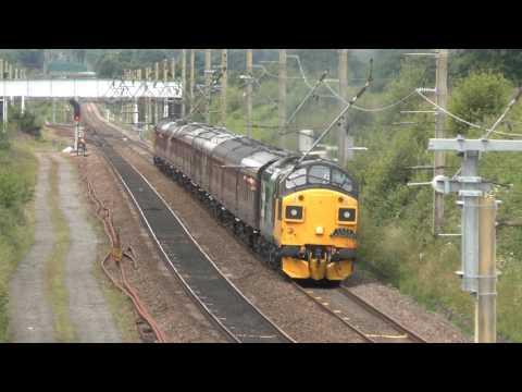 37025 near Euxton South of Preston 1st July 2017