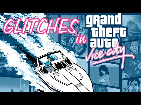 Grand Theft Auto: Vice City Glitches & Game Bugs (w/Reactions)  