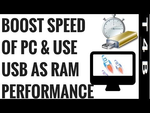 How to Use PenDrive As RAM usb | increase PC Speed RAM | boost pc performance | Computer TipsTricks