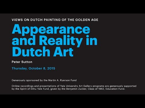 Appearance and Reality in Dutch Art