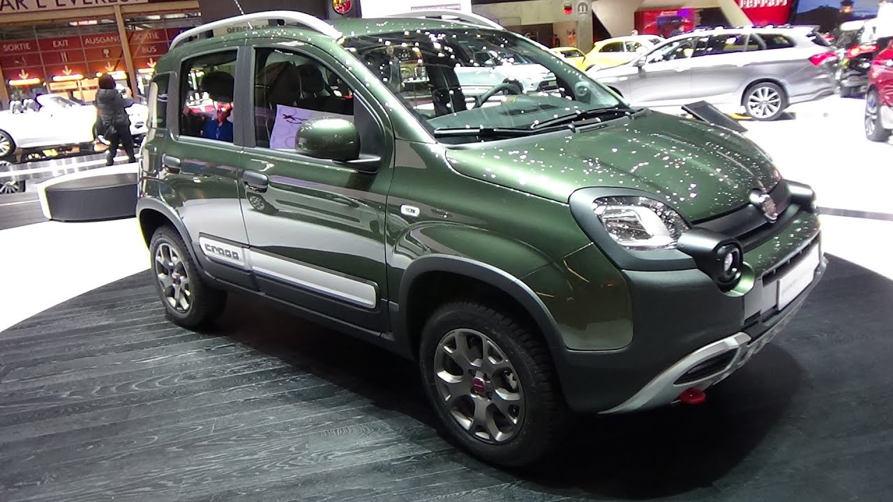 2016 fiat panda cross exterior and interior geneva motor show 2016 youtube. Black Bedroom Furniture Sets. Home Design Ideas