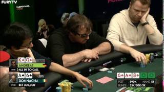 Poker Player SLOW ROLLS And Gets INSTANT KARMA!