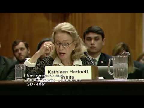 Whitehouse Remarks in EPW Hearing on Harnett White and Wheeler EPA Nominations