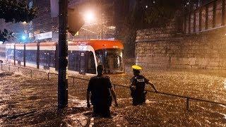 Heavy Rains Cause Flooding In Toronto