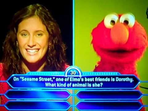 Elmo -- Who Wants To Be A Millionaire