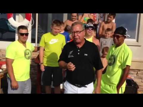 Jaws (Ron Jaworski) Ice Bucket Challenge