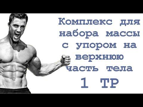Вопрос: Как развить верхнюю часть тела?