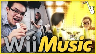 Wii Music Main Theme Jazz Arrangement || insaneintherainmusic (feat. Emily Gelineau)