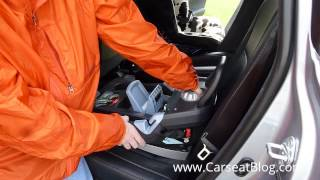 Peg Perego Primo Viaggio Infant Carseat Review, Part I: Installation