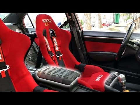 8th Gen Civic Si Bride Arm Rest Install / IT LOOKS AMAZING!!!