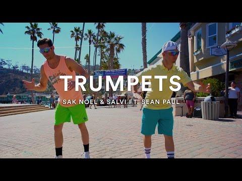 #TrumpetsChallenge | Sak Noel & Salvi ft. Sean Paul - TRUMPETS | Official Dance Video