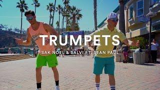 #trumpetschallenge  Sak Noel & Salvi Ft. Sean Paul Trumpets  Official Dance Video