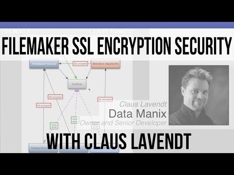 FileMaker 14 Videos | FileMaker SSL Certificate Network Encryption Security